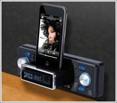 boss audio autoradio mit ausfahrbarem ipod dock. Black Bedroom Furniture Sets. Home Design Ideas