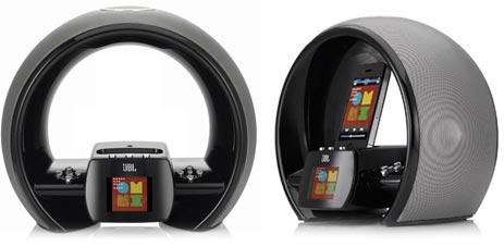 jbl k ndigt airplay soundsystem mit radiowecker und dock an. Black Bedroom Furniture Sets. Home Design Ideas
