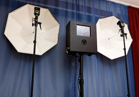 Selbstgebaut Professioneller Fotoautomat Mit Ipad Steuerung Für