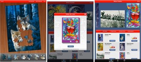 Schmidt Puzzle iPad App