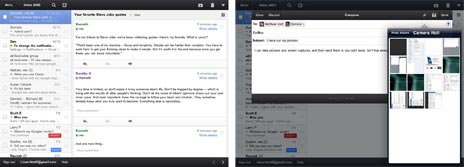Google Mail iPad