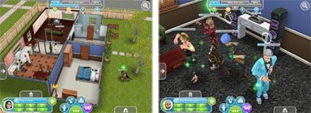 Sims iPad