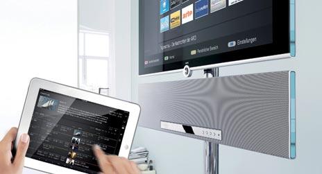 neue ipad apps f r loewe fernseher fernbedienung und entertainment zentrale. Black Bedroom Furniture Sets. Home Design Ideas