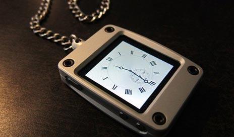 Taschenuhren modern  Mal was anderes: iPod nano als Taschenuhr mit Kette › ifun.de