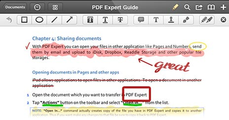 pdf expert crashes on ipad