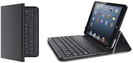belkin keyboard case ipad mini als reiseschreibmaschine. Black Bedroom Furniture Sets. Home Design Ideas
