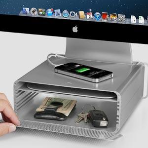 Angeschaut: Twelve South HiRise – Praktischer Ständer mit Ablagefach für iMacs und Apple-Displays