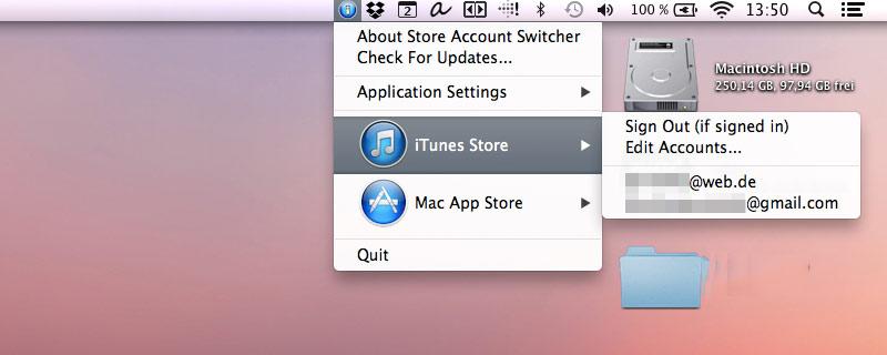 "Mehrere Accounts? ""iTunes Account Switcher"" will Login in ..."