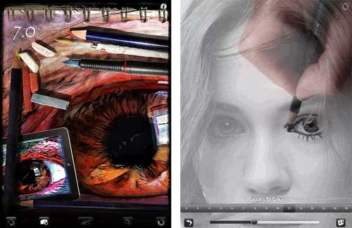 Camera Lucida Ungewöhnliche App Zum Abpausen Und Zeichnen Lernen