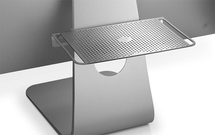 nette idee halterung f r apple tastatur und trackpad ist. Black Bedroom Furniture Sets. Home Design Ideas