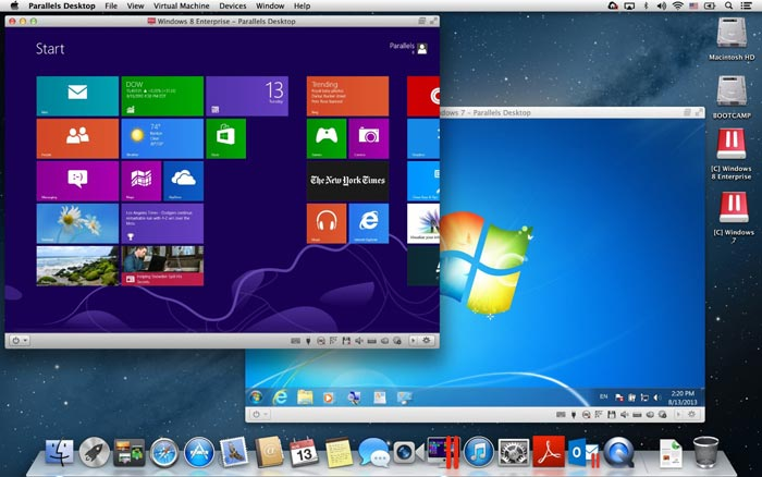 Parallels Mac Screenshot