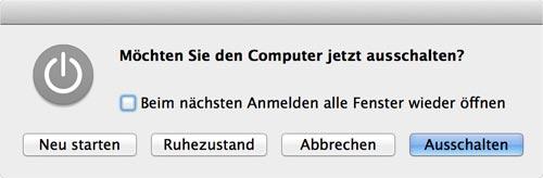 mac-ausschalten