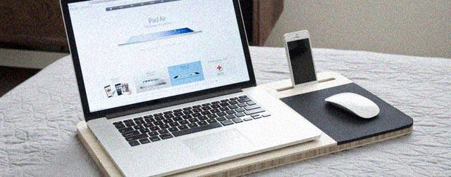 slate mobile airdesk notebook unterlage f r das arbeiten auf dem sofa. Black Bedroom Furniture Sets. Home Design Ideas