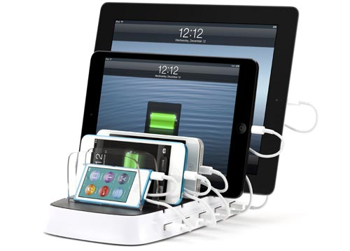 griffins powerdock 5 l dt 5 tablets und smartphones. Black Bedroom Furniture Sets. Home Design Ideas