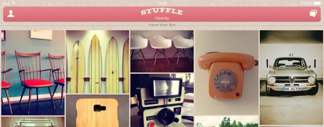 flohmarkt app stuffle jetzt auch f rs ipad optimiert. Black Bedroom Furniture Sets. Home Design Ideas