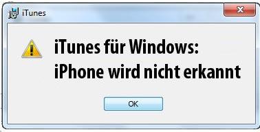 Iphone Wird Nicht Erkannt Wiederherstellen