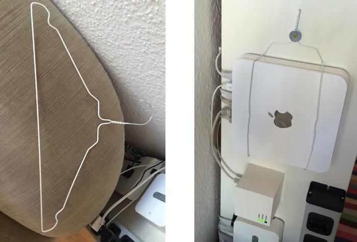 Time capsule neu verdrahtet wandhalterung im eigenbau - Tv halterung selber bauen ...
