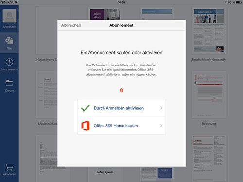 Microsofts Office Bloß Nicht Auf Dem Ipad Kaufen Ifunde