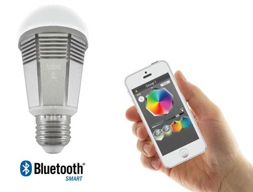 lumen bulb per app steuerbare bluetooth led lampe mit e27 fassung. Black Bedroom Furniture Sets. Home Design Ideas