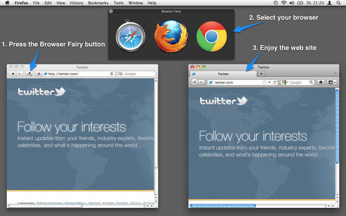 Browser Fairy