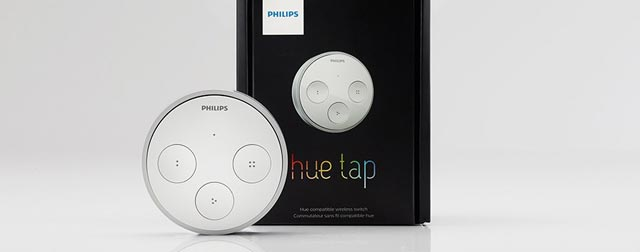 philips hue app wird bersichtlicher und f r tap lichtschalter vorbereitet. Black Bedroom Furniture Sets. Home Design Ideas