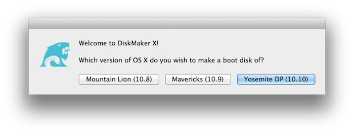 DiskMaker X for Yosemite DP001