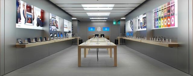 apple store basel ffnet diesen samstag. Black Bedroom Furniture Sets. Home Design Ideas