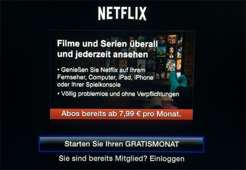 how to connect netflix from apple computer to tv