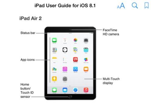 apple handbuch best tigt ipad air 2 und ipad mini 3 mit. Black Bedroom Furniture Sets. Home Design Ideas