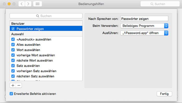 zweimal passwort eingeben mac