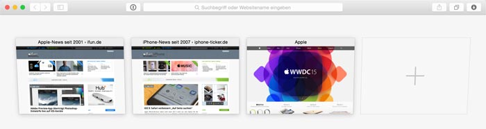 Mac Grundlagen Schneller Wechsel Zwischen Safari Tabs Ifun De