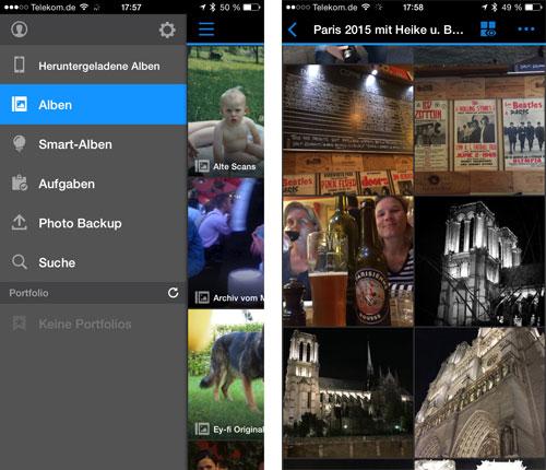 Einfachere Foto-Backups von iOS-Geräten auf Synology NAS-Laufwerke