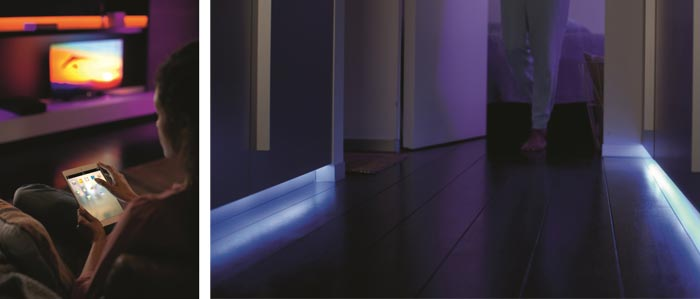 philips hue lightstrip plus. Black Bedroom Furniture Sets. Home Design Ideas