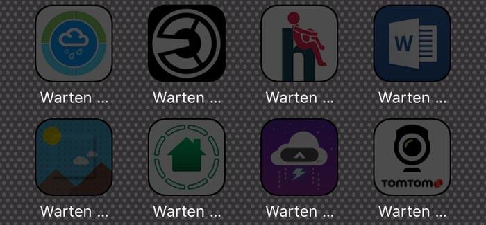 apps-warten