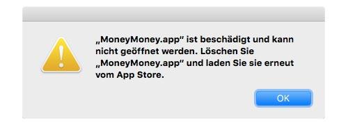 moneymoney-fehler