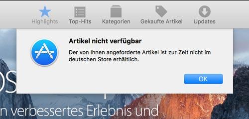 app-nicht-verfuegbar