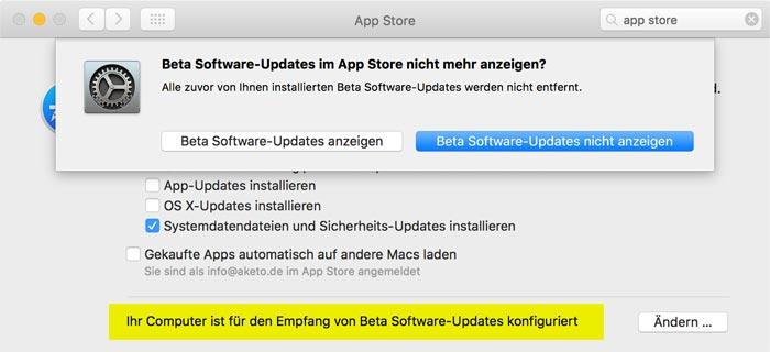 mac-beta-programm-beenden