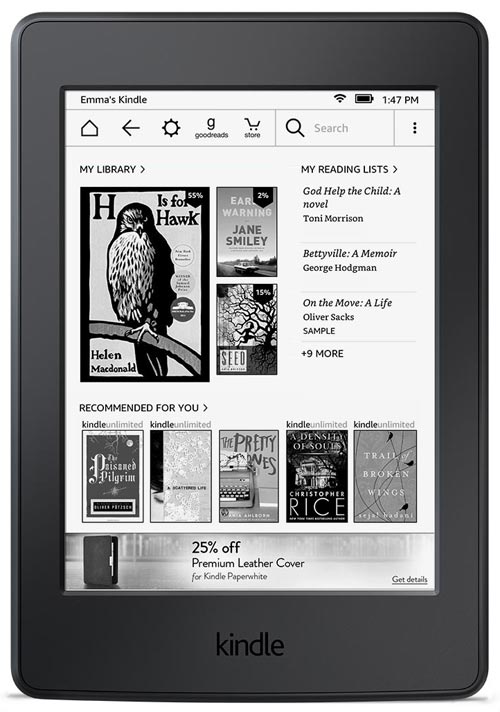 the way to get admission to loose books on kindle