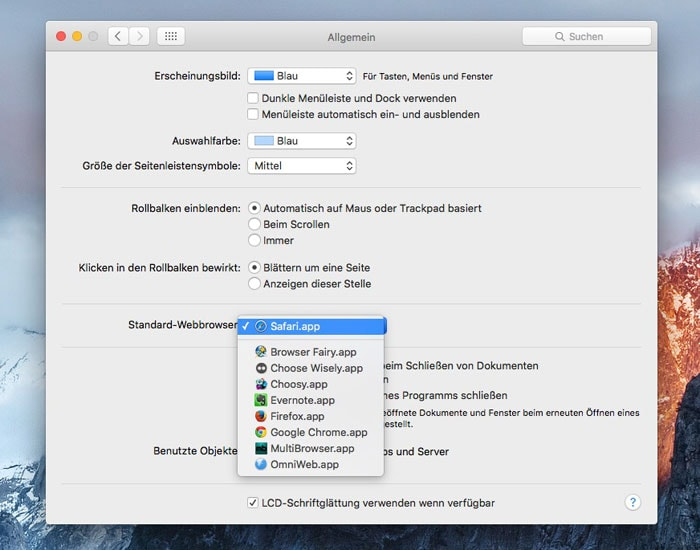 standard-browser