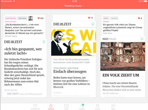 Blendle Ios App
