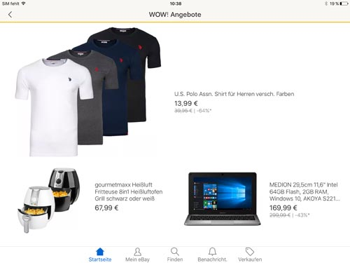 Ebay App Ipad