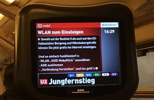 Wlan Hamburg Bus U Bahn