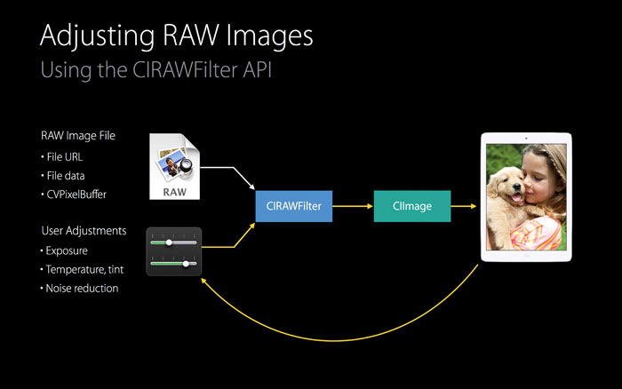 Adjusting Raw Images