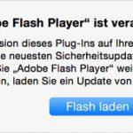 Flash Player Ist Veraltet Mac