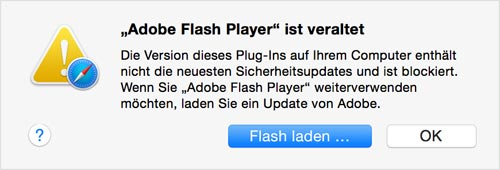 Flash Player Ist Veraltet Mac