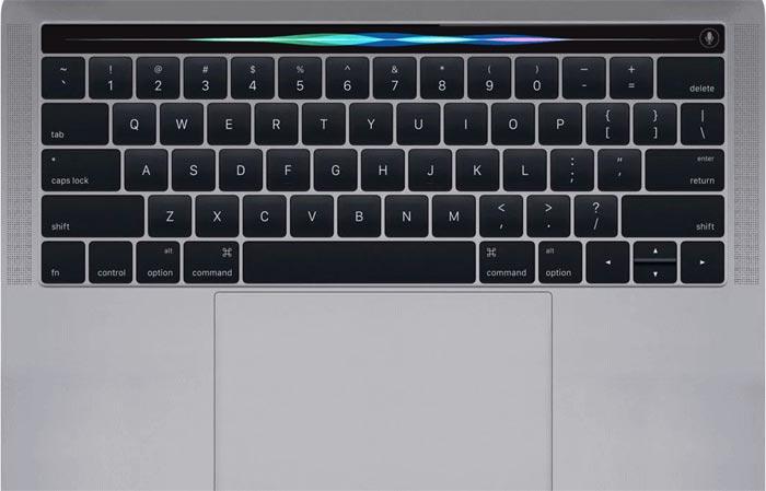 Macbook Pro Oled Siri