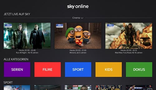 Sky Online Apple Tv