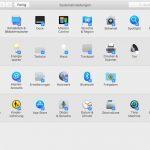 Systemeinstellungen Sortieren Mac