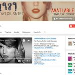 Taylor Swift Youtube