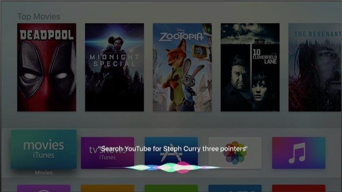 Tv Os 10 Siri